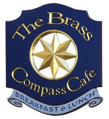 brass compass logo